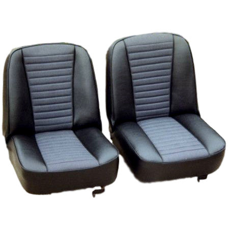 FRONT SEAT KIT - PAIR - NON-RECLINING 1972-75