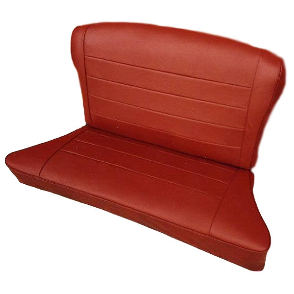 REAR SEAT COVERING KIT-LEATHER-1949-53