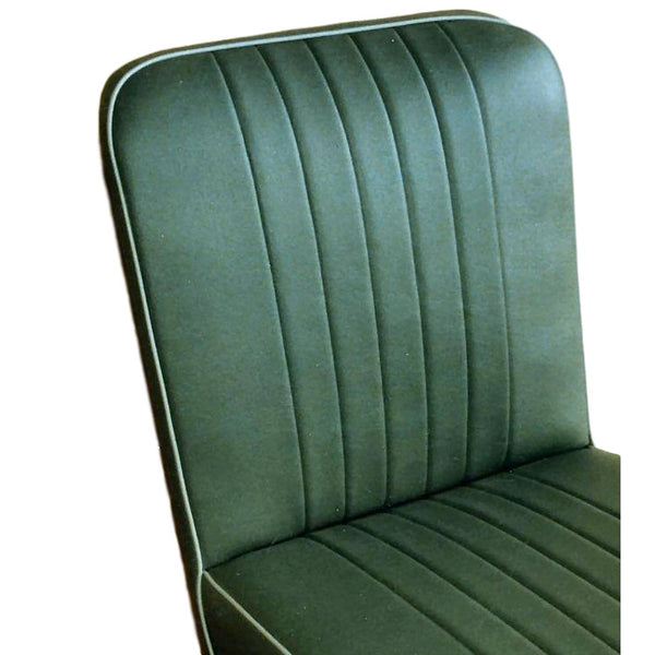 FRONT SEAT SQUAB COVER - FOLDING SEATS -VINYL  1956-59
