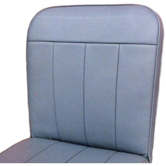 FRONT SEAT SQUAB COVER -FIXED-LEATHER  1960-62