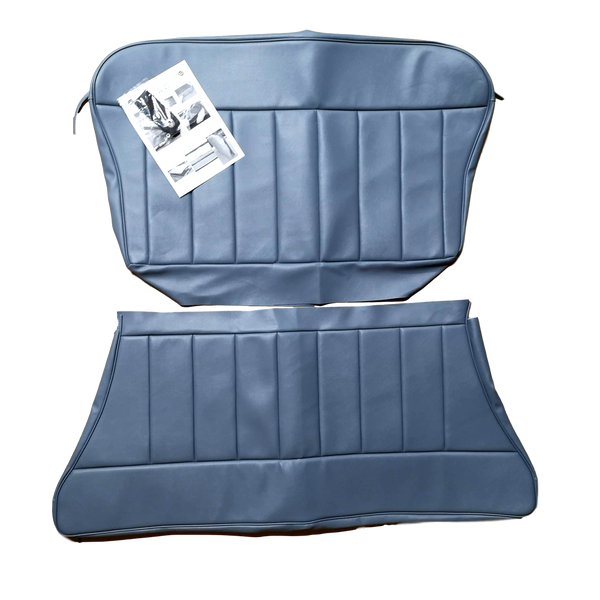 2 DOOR SALOON/CONVERTIBLE REAR SEAT COVERING KIT 1960-62 -VINYL