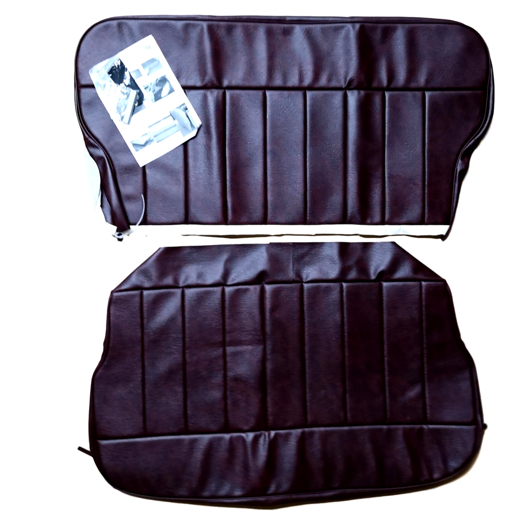 MINOR 4 DOOR REAR SEAT KIT-1960-62-VINYL