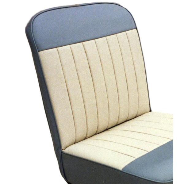 FRONT SEAT FIXED SQUAB COVER DUOTONE 1962-64