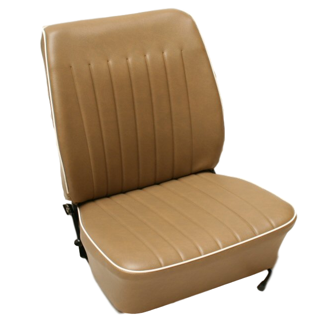 VW TYPE 2 1973-79 FRONT DRIVERS SEAT COVER (CLAM SHAPE)