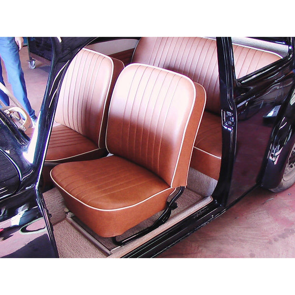 BEETLE CABRIO 56-64 FRONT & REAR SEAT COVERS (2 POINT)