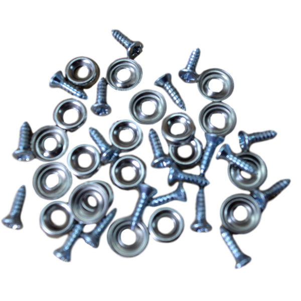 PACKET OF 20 SCREWS & CUPWASHERS