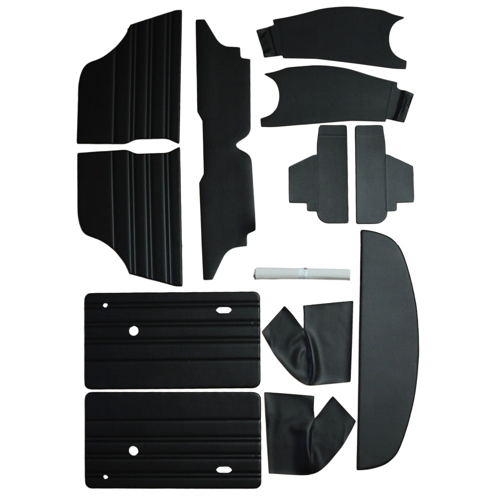 INTERIOR PANEL KIT - ROUND SPEEDO SALOON 1973-76