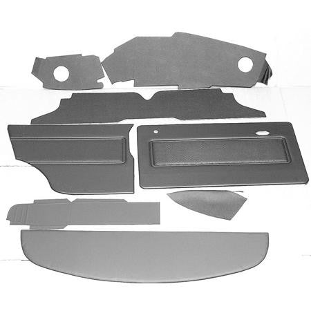 1275 GT LHD OFFSET SPEEDO COMPLETE INTERIOR TRIM PANEL KIT (1973-75)