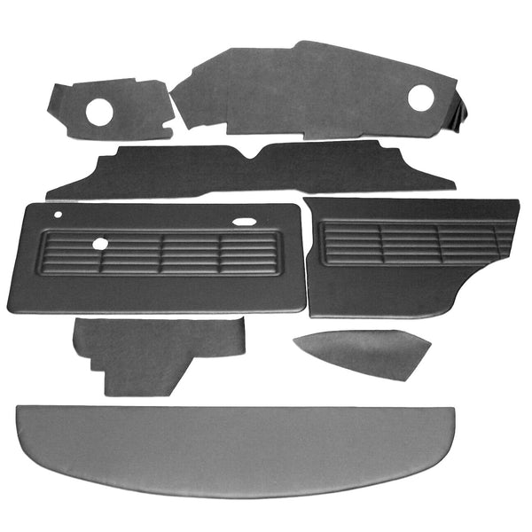 MINI CLUBMAN RHD OFFSET SPEEDO INTERIOR PANEL KIT (1973-75)