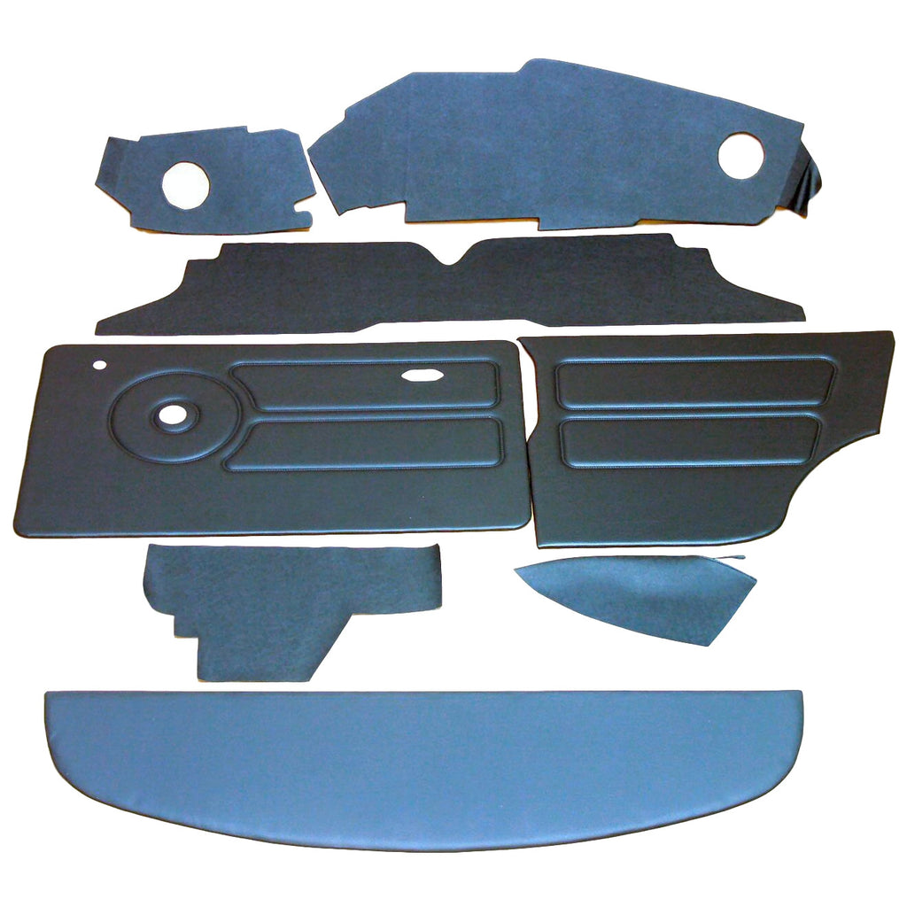 MINI CLUBMAN & SALOON LHD OFFSET SPEEDO INTERIOR PANEL KIT (1975 ONWARDS)