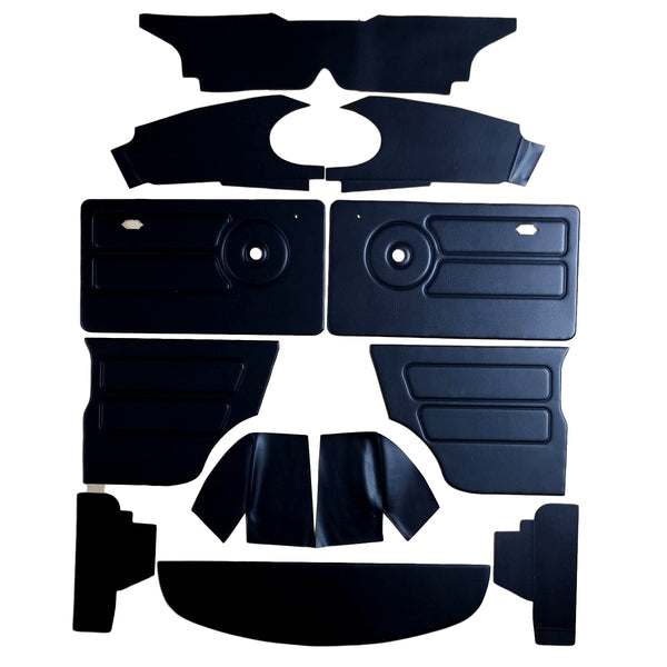 MINI CLUBMAN & SALOON OVAL SPEEDO INTERIOR PANEL KIT (1975 ONWARDS)