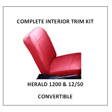HERALD 1200 & 12/50 CONVERTIBLE COMPLETE INTERIOR KIT