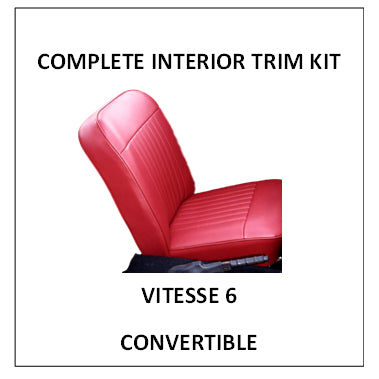 VITESSE 6 CONVERTIBLE COMPLETE INTERIOR KIT
