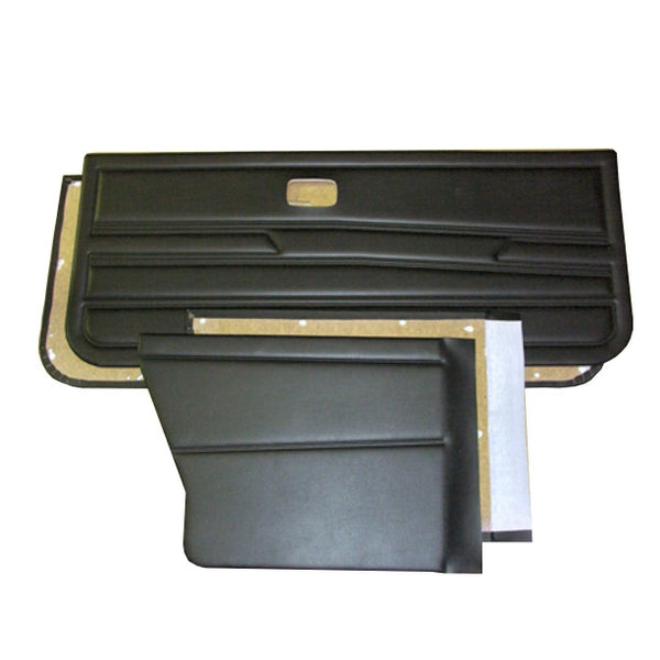 VW GOLF MK.I CABRIO 4 PIECE PANEL KIT - NO SPEAKER HOLES/ NO INERTIA SEATBELTS