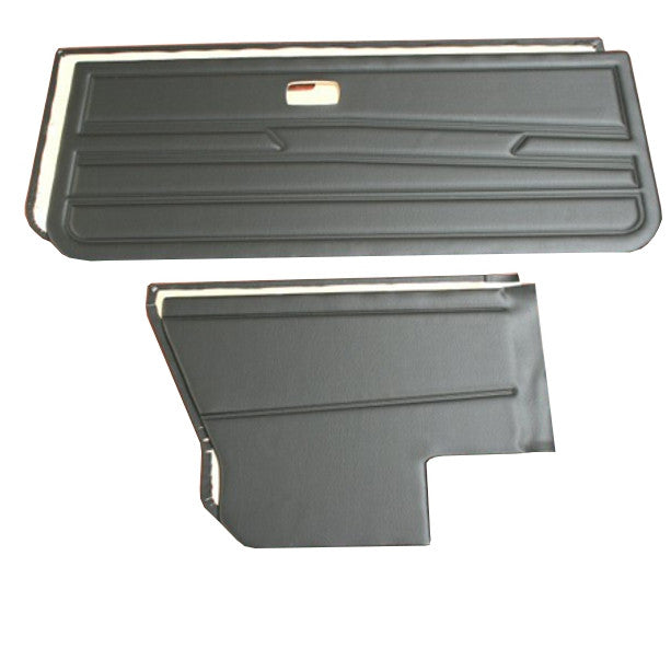 GOLF MK.I CABRIO 4 PIECE PANEL KIT - INERTIA SEATBELTS/ NO SPEAKER HOLES