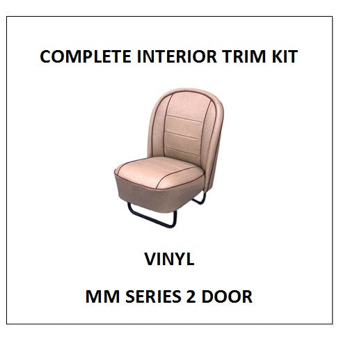 MM SERIES 2 DOOR VINYL COMPLETE INTERIOR KIT