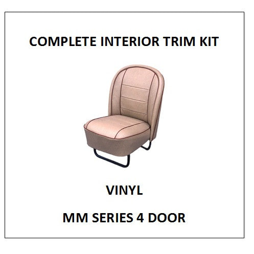 MM SERIES 4 DOOR VINYL COMPLETE TRIM KIT