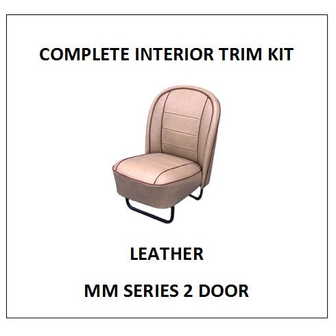 MM SERIES 2 DOOR LEATHER COMPLETE INTERIOR KIT