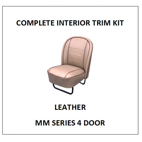 MM SERIES 4 DOOR LEATHER COMPLETE TRIM KIT