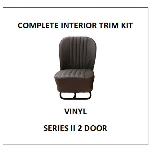 SERIES II 2 DOOR VINYL COMPLETE INTERIOR TRIM KIT