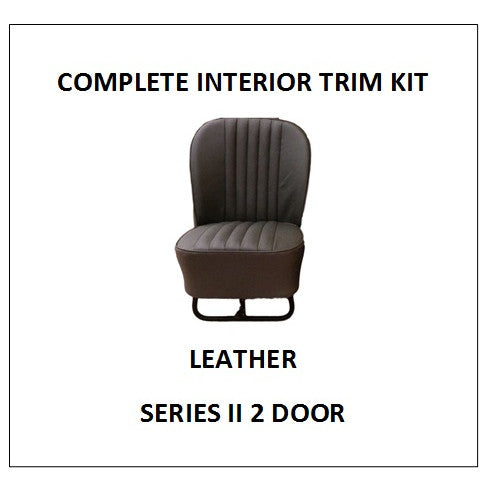SERIES II 2 DOOR LEATHER COMPLETE INTERIOR TRIM KIT