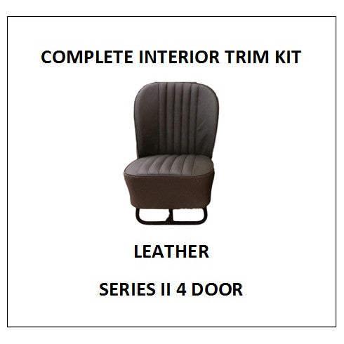 SERIES II 4 DOOR LEATHER COMPLETE INTERIOR TRIM KIT