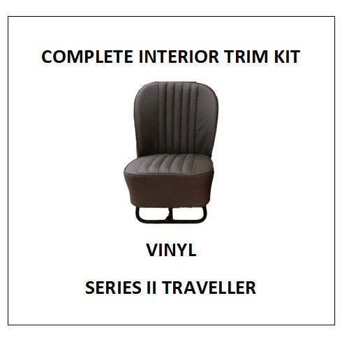 SERIES II TRAVELLER VINYL COMPLETE INTERIOR TRIM KIT
