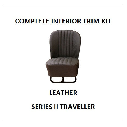 SERIES II TRAVELLER LEATHER COMPLETE INTERIOR TRIM KIT