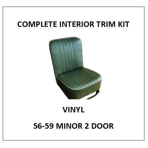 MINOR 1000 56-59 2 DOOR VINYL COMPLETE INTERIOR TRIM KIT