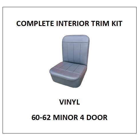 MINOR 60-62 4 DOOR VINYL COMPLETE INTERIOR TRIM KIT