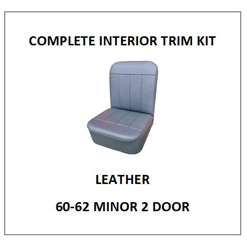 MINOR 60-62 2 DOOR LEATHER COMPLETE INTERIOR TRIM KIT