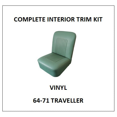 MINOR 64-71 TRAVELLER VINYL COMPLETE INTERIOR TRIM KIT