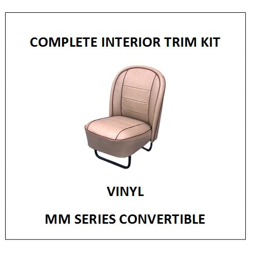 MM SERIES CONVERTIBLE VINYL COMPLETE INTERIOR KIT