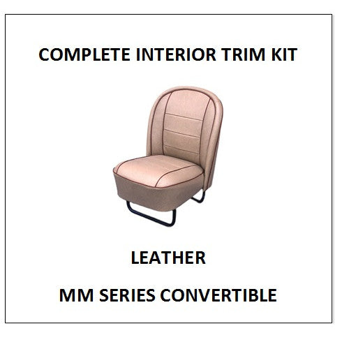 MM SERIES CONVERTIBLE LEATHER COMPLETE INTERIOR KIT