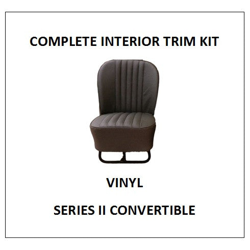 SERIES II CONVERTIBLE VINYL COMPLETE INTERIOR TRIM KIT