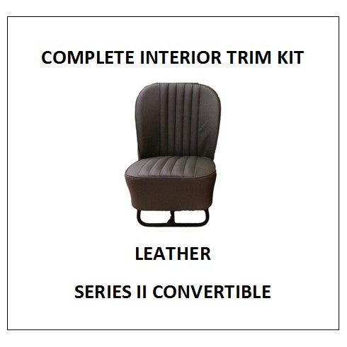 SERIES II CONVERTIBLE LEATHER COMPLETE INTERIOR TRIM KIT