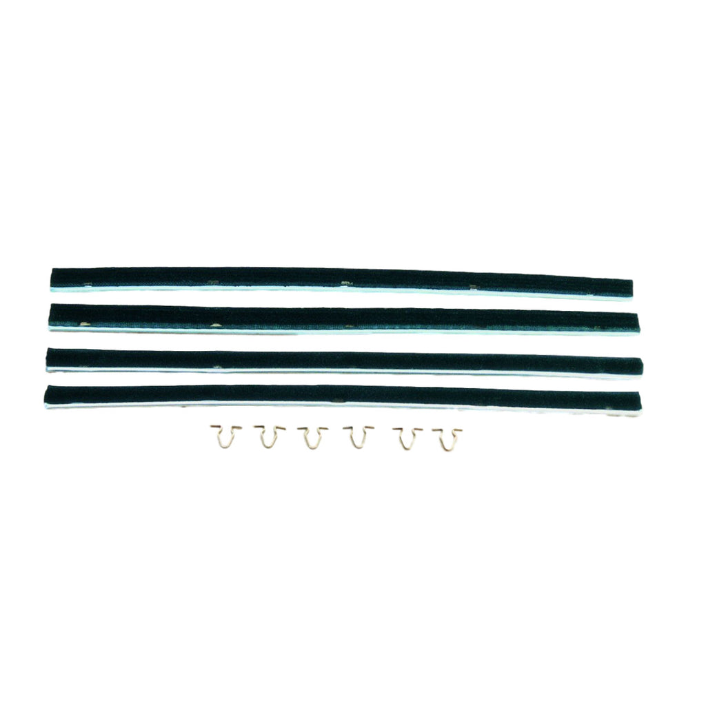 2 DOOR MODEL FRONT DOOR WEATHERSTRIPS -EACH