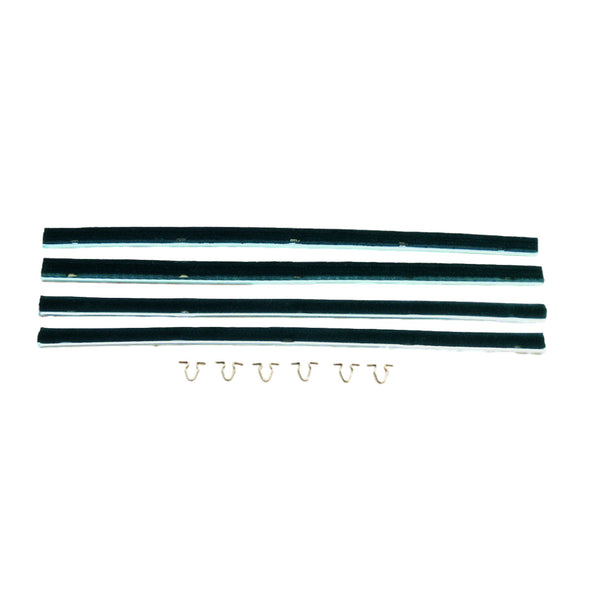 MINOR DOOR WEATHERSTRIP CLIPS (PACKET OF 12)