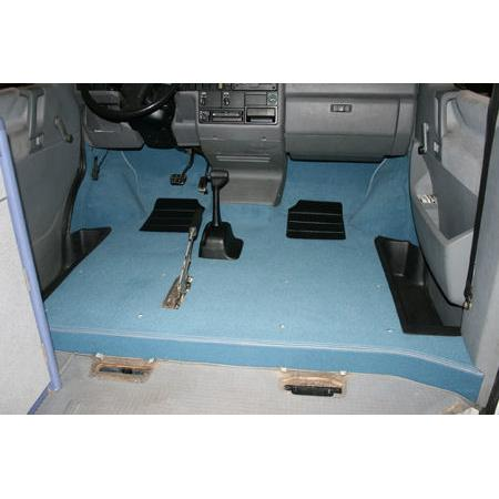T4 LHD FULL FRONT CAB CARPET SET...NON WALK THRU MODELS