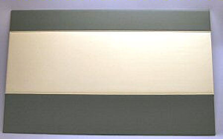 TYPE 2  1968-79 TWO TONE OPPOSITE SLIDING DOOR PANEL