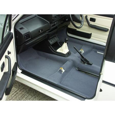 GOLF MK.I TWO DOOR SALOON MOULDED CARPET SET-RHD