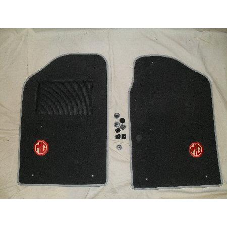 PAIR OF OVERMATS WITH MG LOGO-LEFT HAND DRIVE