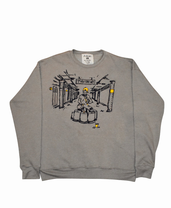 Oversized New York Grind Sweatshirt