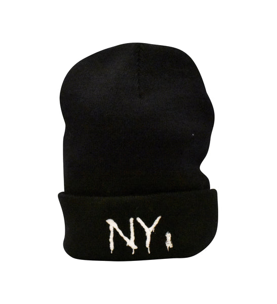 NY Spray Paint Beanie