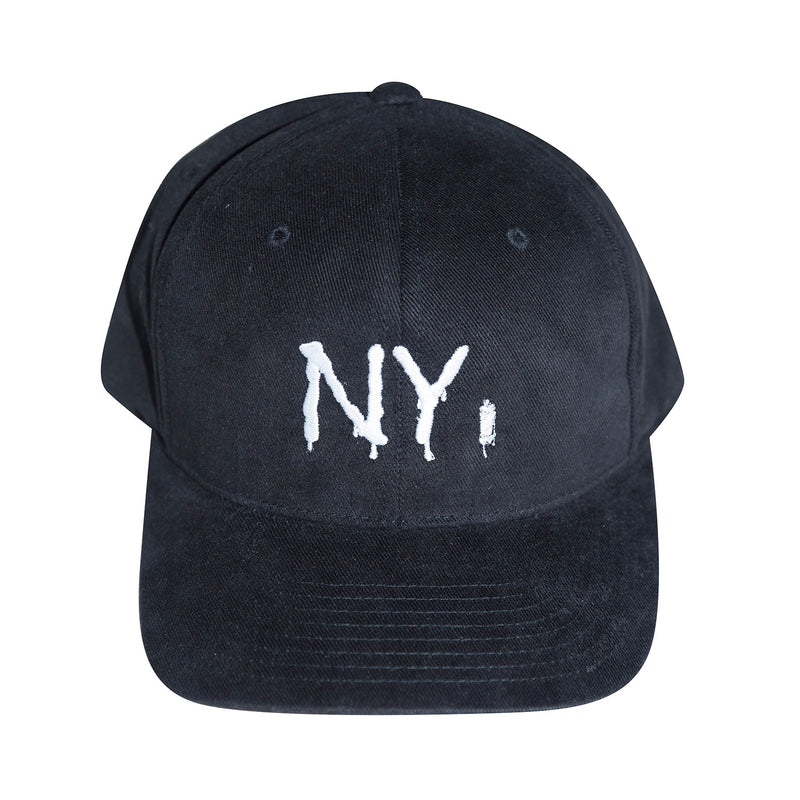 NY Spray Paint 6 Panel Hat