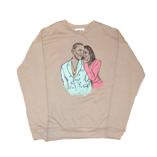 Oversized A Promised Love sweatshirt
