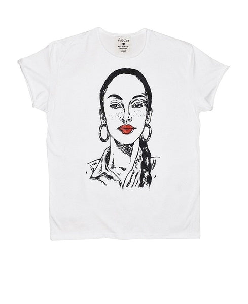 Miss Adu White Tee