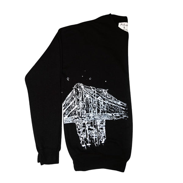 Oversized Brooklyn Bridge Sweatshirt