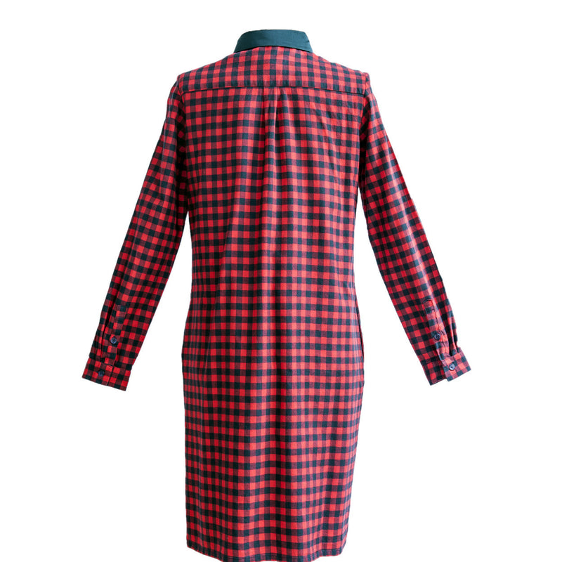 Shirt Dress Checked
