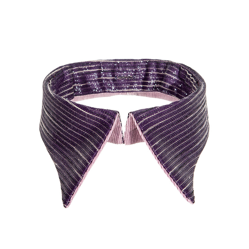 Retro collar purple